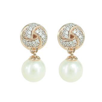 ESPRIT collezione ladies orecchini in argento Rosé Pelia ELER92509B000