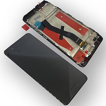 Für Huawei P10 Full Display LCD mit Rahmen Komplett Schwarz Reparatur Neu