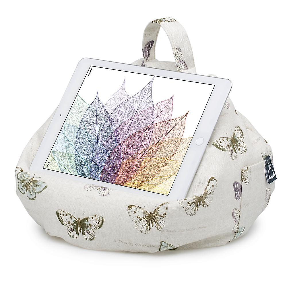 Ipad, tablet & ereader bean bag stand by ibeani - chic butterfly