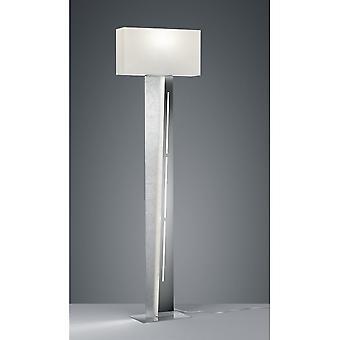 Трио, освещение Нестор современных серебряных металлических торшер