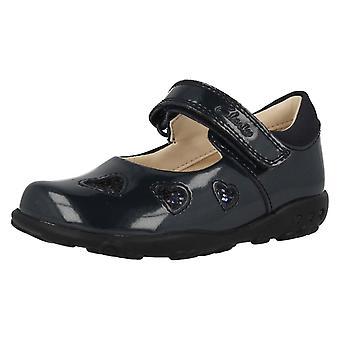 Piger Clarks første sko med lys Ella Leah