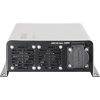 VolTCRAFT Inverter SWD-1200/24 1200 W 24 V DC - 230 V AC Funzionamento remoto