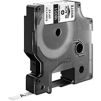 Kabelbinder etiket DYMO IND RHINO 18051 polyolefinen Tape kleur: wit lettertype kleur: zwart 6 mm 1.5 m