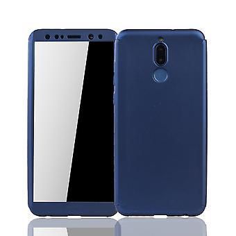 Huawei mate 10 Lite matkapuhelin kuori suojaa koko kattaa säiliö lasi sininen