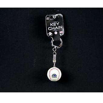Colorado Rockies MLB Baseball Key Chain