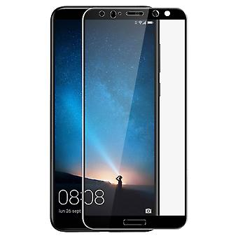 Tempered glass screen protector for Huawei Mate 10 Lite, colored edges – Black