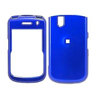 BlackBerry Tour 9630 luxo Snap-sobre o caso (azul metálico)
