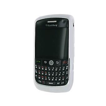 Blackberry 8900 için OEM RIM BlackBerry Kauçuk Cilt (Beyaz)