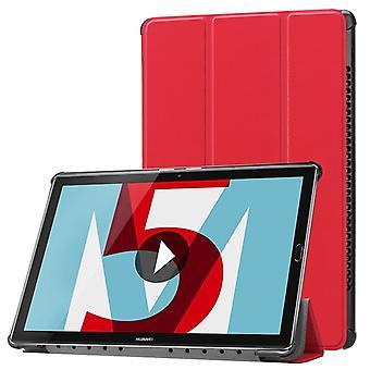 Premio custodia Smart cover rosso/case/custodia 10.1 pollici manica di Huawei MediaPad T5