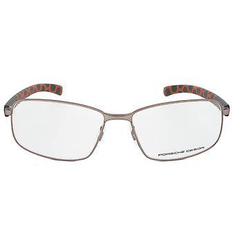 Porsche Design P8199 B Rectangular | Light Gunmetal| Eyeglass Frames