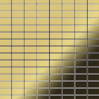 Metal mozaik Brass ötvözet Bauhaus-BM