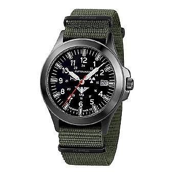 KHS Montres mens watch noir KHS automatique de peloton. BPA.NO