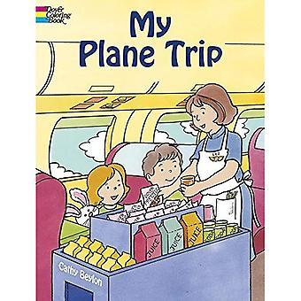 Mon voyage en avion (Dover-livre de coloriage)