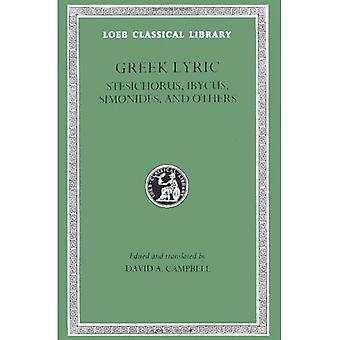 Griekse Lyric: Stesichorus, Ibycus, Simonides e.a. v. 3 (Loeb Classical Library)