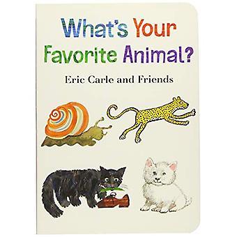 Wat is uw favoriete dier?