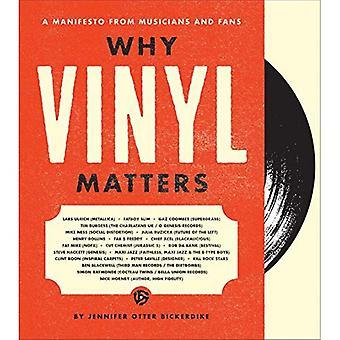 Pourquoi le vinyle est-il important: Un manifeste des musiciens et des Fans (Hardback)