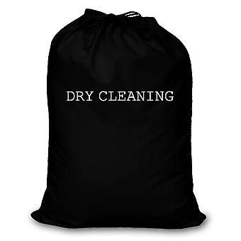 Black Laundry Bag Dry Cleaning