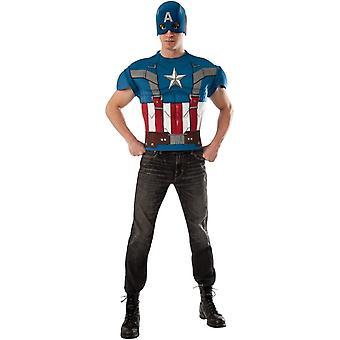 Classic Captain America voksen Kit
