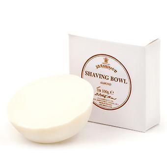 D R Harris Shaving Soap Refill 100g-Almond