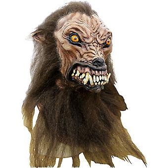 Wilczarz lateksowe maski na Halloween