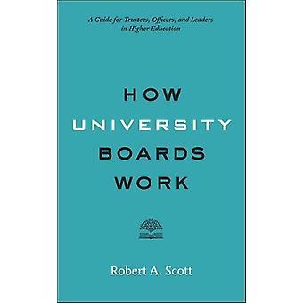 仕事 - 管理委員会のためのガイド - 役員 - やリーの大学をボードします。
