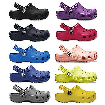 Unisex Kids Crocs Classic Clog K Rubber Lightweight Summer Shoes Sandals