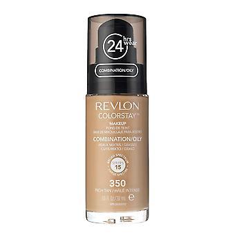 Revlon Colorstay фонд для комбинации и жирной кожи, 350 # которые богатые загар