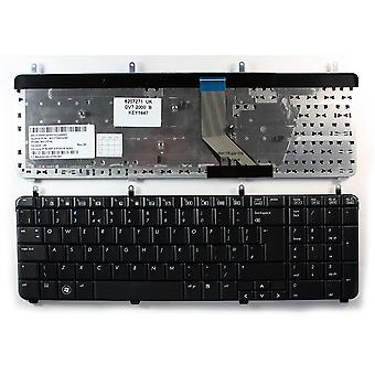 HP Pavilion dv7-3016eo Black UK Layout Replacement Laptop Keyboard