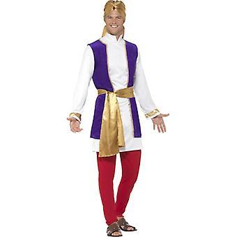 Arab Prince Sheikh barbati costum