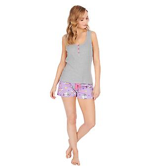 Forever Dreaming Womens/Ladies Frenchicorn Short Pyjamas