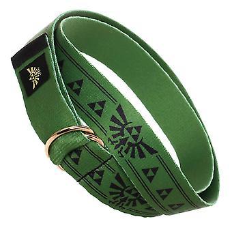 The Legend of Zelda Webbed D-Ring Belt