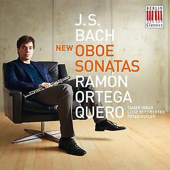 Ramon Ortega Quero - J. S Bach: New Bach Sonatas for Oboe [CD] USA import