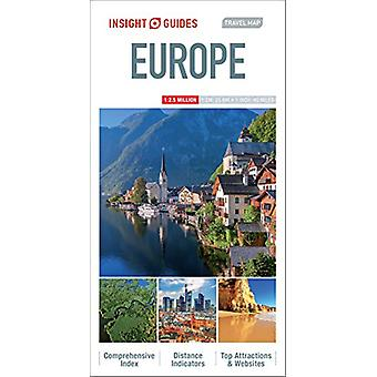 Insight Guides - Travel Map Europe by APA Publications Limited - 97817