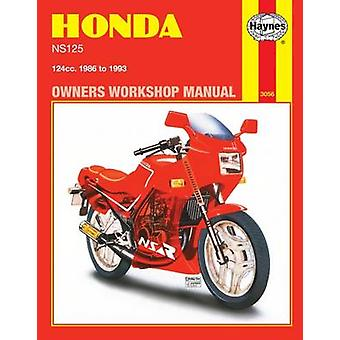 Honda NS125 (1986-1993) Owners Workshop Manual by Penelope A. Cox - 9