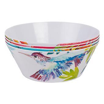 Navigate Paradise Set of 4 Melamine Bowls