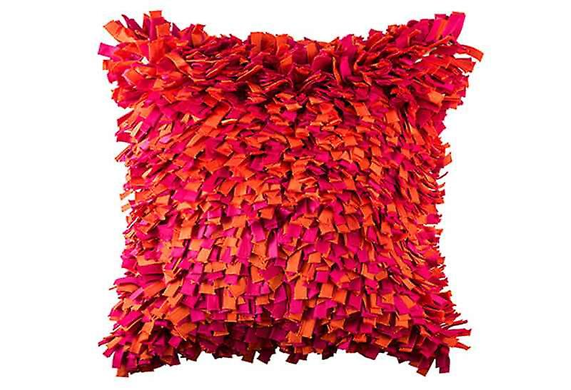 Bright Statement Into The Flame Throw Pillow Cover