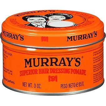 Murray's Superior Hair Dressing Pomade 3 oz Jar