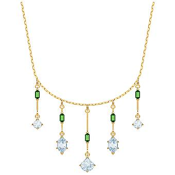 Swarovski Oz Necklace - White - Gold Plating