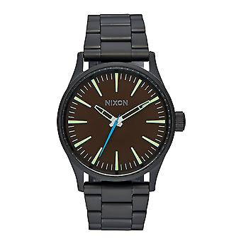 Nixon die Sentry 38 SS All Black Brown (A450712)