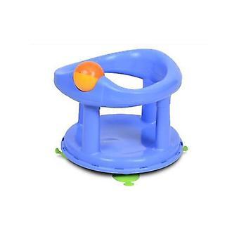 Segurança 1º assento de banho giratório pastel azul