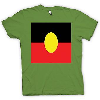 Kinder T-shirt-australische Aborigines Flagge