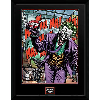 DC Comics Joker dents encadré Collector impression 40x30cm
