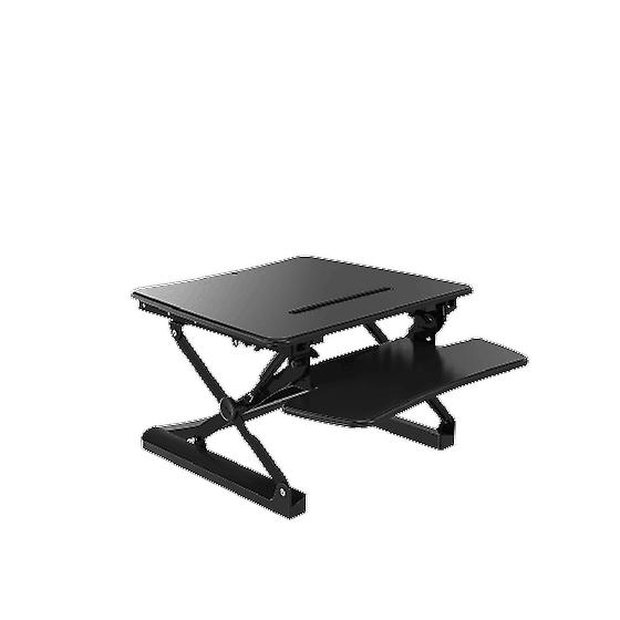 Flexispot Wide Stand Up Desk With Wider Keyboard Tray Height Adjustable Standing Desk Riser