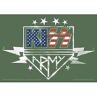 Sticker - Kiss - RWB Army Logo New Toys Licensed s-8067
