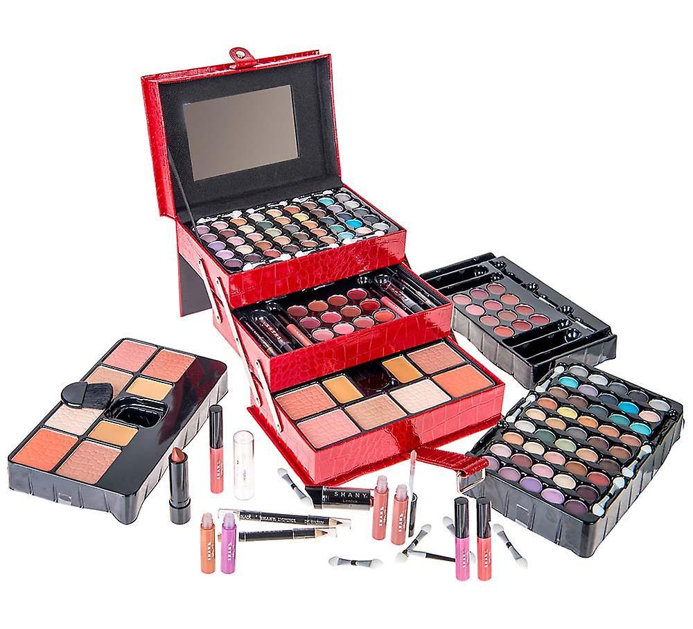 SHANY All In One Makeup Kit (Ombre à paupières, Blushes, Poudre, Rouge à lèvres - Plus) Exclusif de vacances