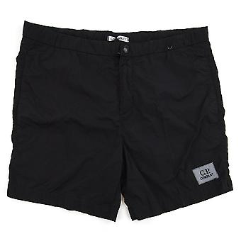 CP Company Chrome Swim Shorts Noir 999