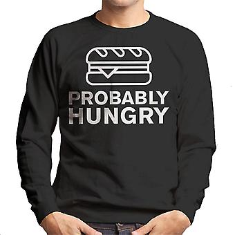 Probably Hungry Burger Men's Sweatshirt