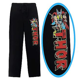 Thor logo Jack Kirby menn ' s pyjamas bukser