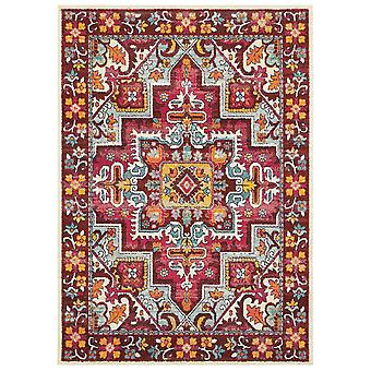 Bohemian 5330r red/ pink indoor area rug rectangle 7'10