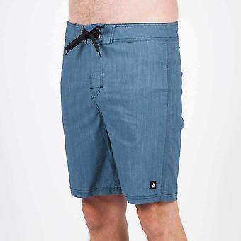 Passagier lineaire shorts blauw groen
